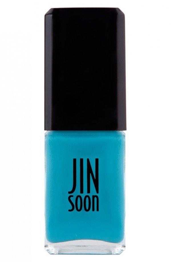 Jin Soon,nail polish,nail care,electric blue,cosmetics,
