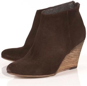 Topshop Ailish Wedge Shoe Boots