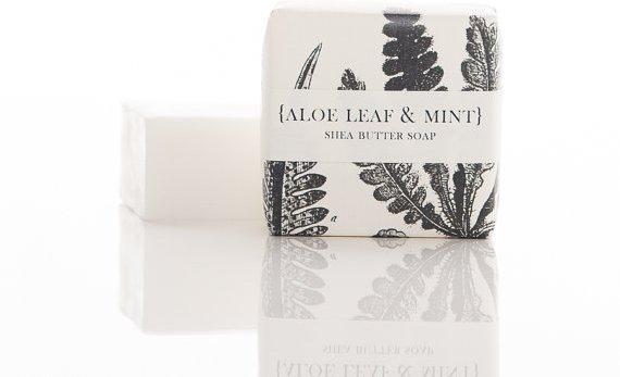 Minty Shea Butter Soap
