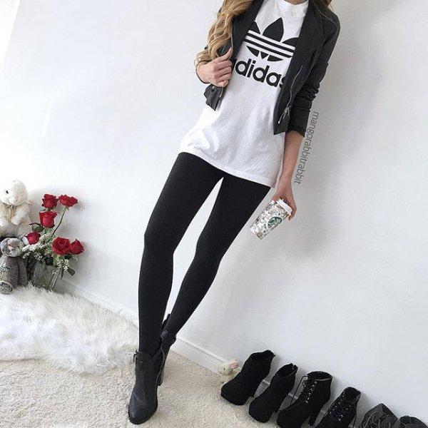 Adidas, clothing, leg, leather, footwear,
