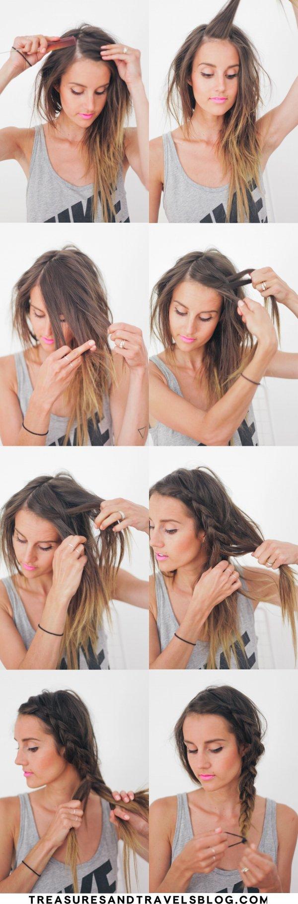 DIY Summer Braid Hair Tutorial