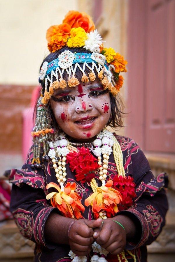 Indian Gypsy Girl, Jaisalmer