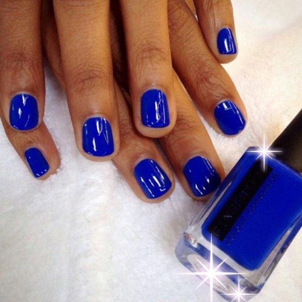 nail, color, blue, electric blue, manicure,