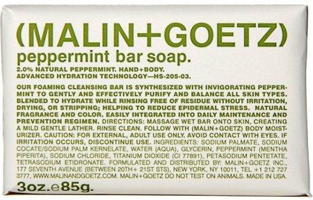 Malin + Goetz Peppermint Bar Soap
