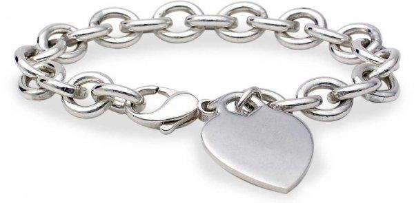 Linked Heart Bracelet