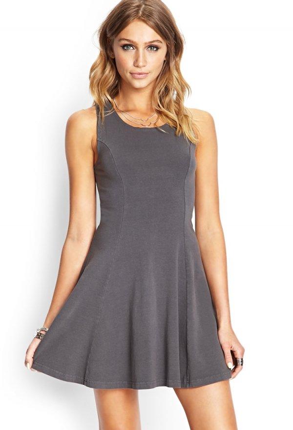 Forever 21 Soft Knit Skater Dress