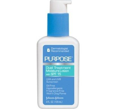 Purpose Dual Treatment Moisture Lotion SPF 15