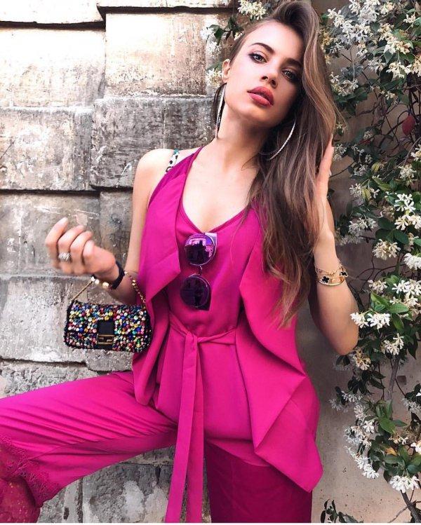 pink, fashion model, model, beauty, shoulder,