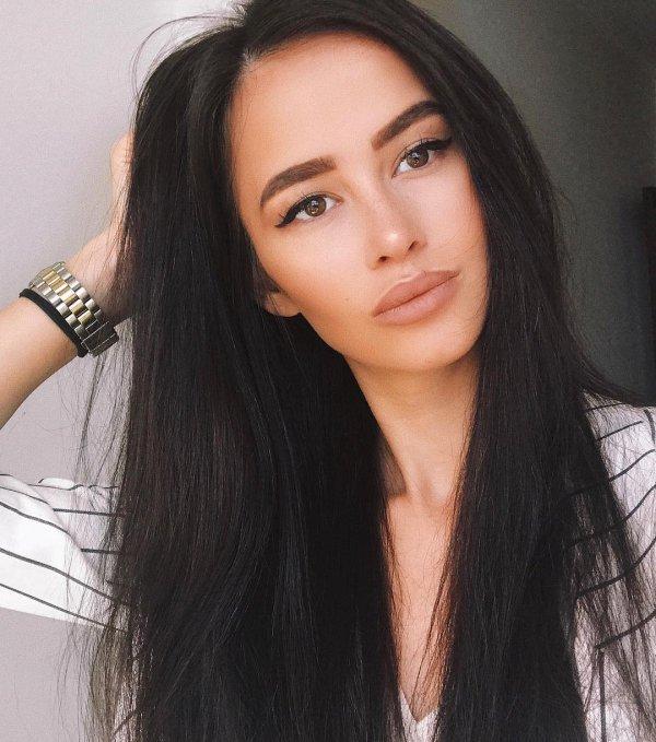 eyebrow, beauty, human hair color, black hair, long hair,