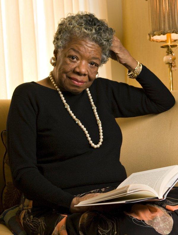 Maya Angelou, May 28