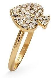 Kate Spade Crystal Spade Ring