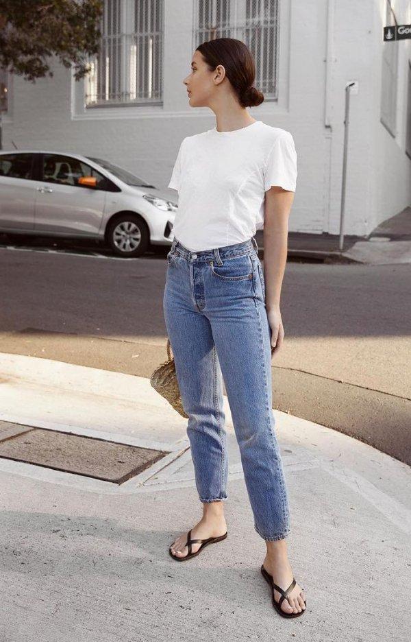 Jeans, Denim, Clothing, Street fashion, Waist,
