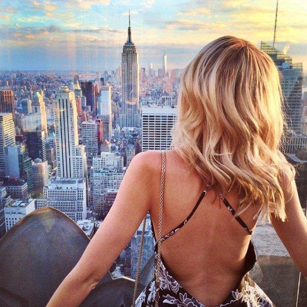 blond, girl, long hair, vacation, brown hair,