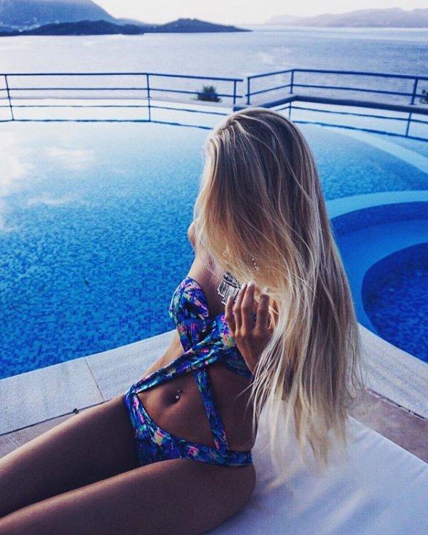 vacation, blue, luxury yacht, swimming pool, sunglasses,