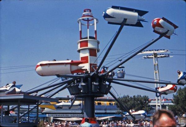 Astro Jets – Disneyland, 1956 - 1966
