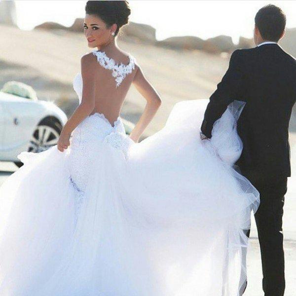 wedding dress, bride, clothing, dress, woman,