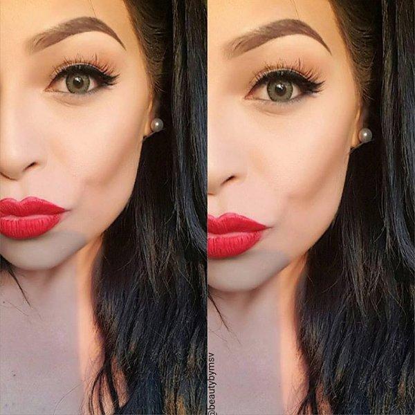 eyebrow, color, red, pink, orange,