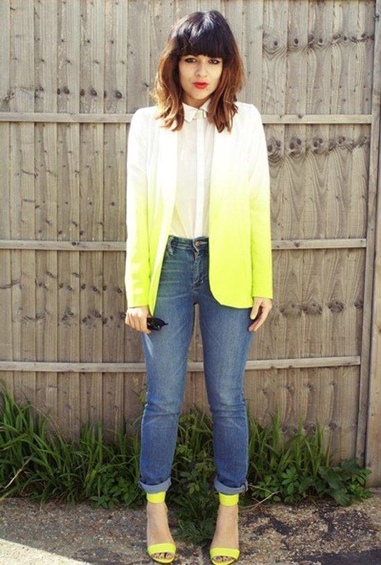 clothing,yellow,green,outerwear,denim,