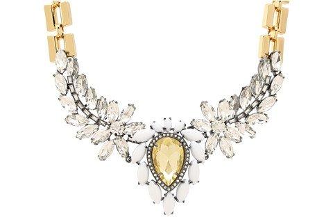 Juicy Couture Gemstone Drama Necklace
