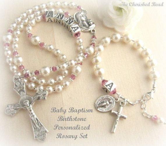 Rosary and Bracelet