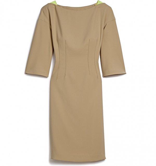 Designer Tan Dress - Marshalls
