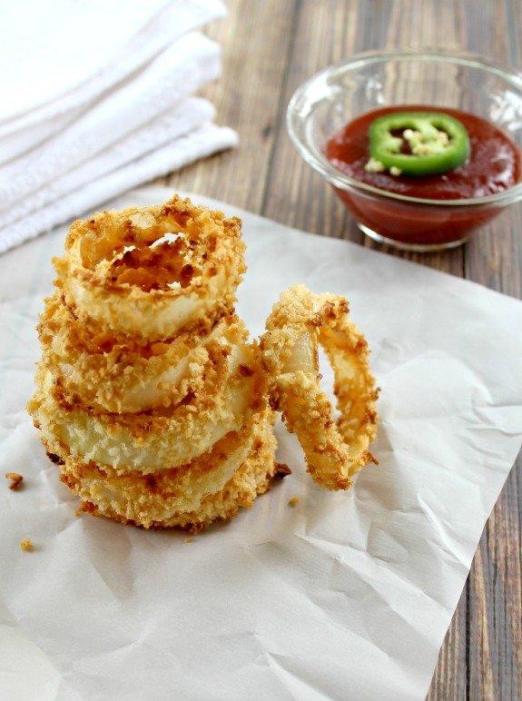 Make Onion Rings