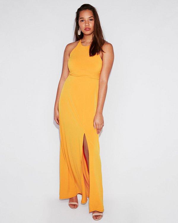 clothing, yellow, day dress, fashion model, dress,