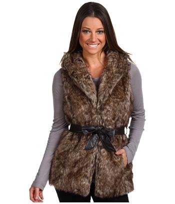 Brigitte Bailey Kennedi Faux Fur Vest
