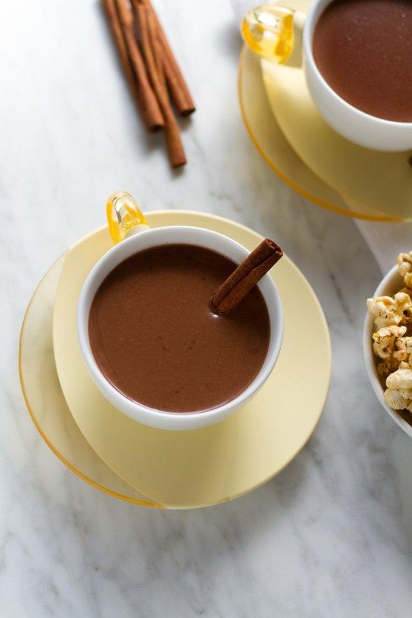 Cinnamon and Tequila Hot Chocolate