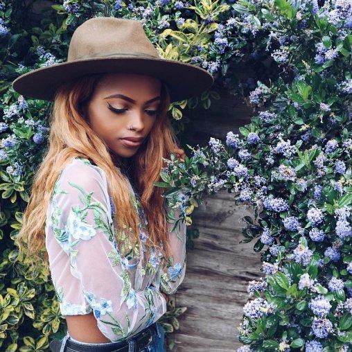 plant, purple, flower, lilac, girl,