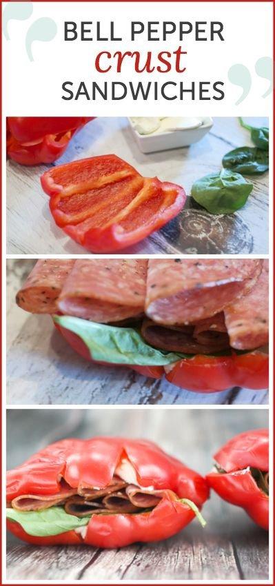 Bell Pepper Sandwiches