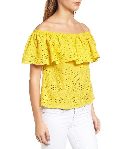 yellow,clothing,sleeve,pattern,peach,