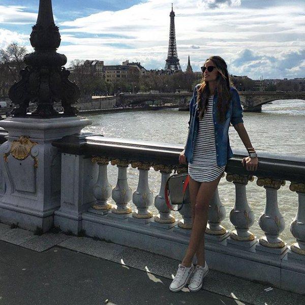 Eiffel Tower, Eiffel Tower, Eiffel Tower, Pont Alexandre III, statue,