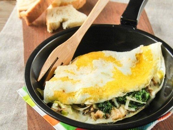 Sneak Veggies into Omelets