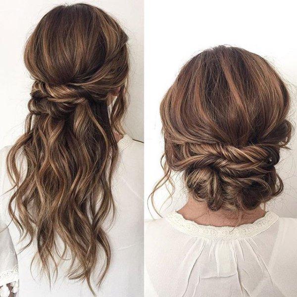 hair, hairstyle, bangs, brown, long hair,