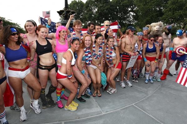 Celebrate America Underwear Run