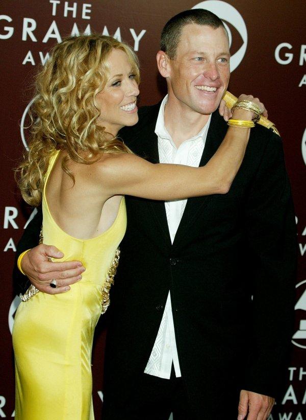 Lance Armstrong and Cheryl Crow