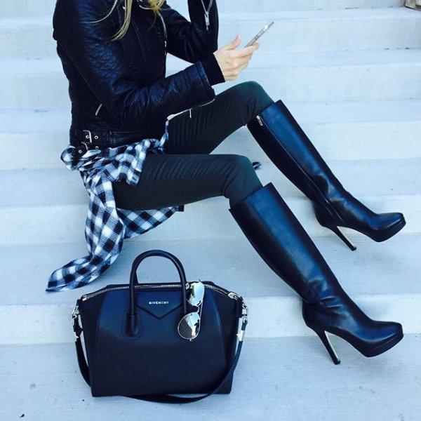 blue, clothing, footwear, high heeled footwear, handbag,
