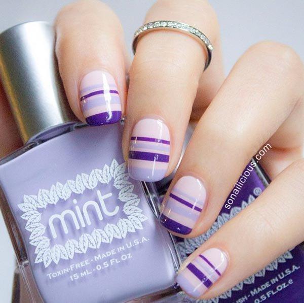 nail, finger, nail care, nail polish, purple,