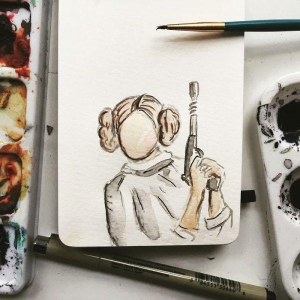 art, drawing, sketch,