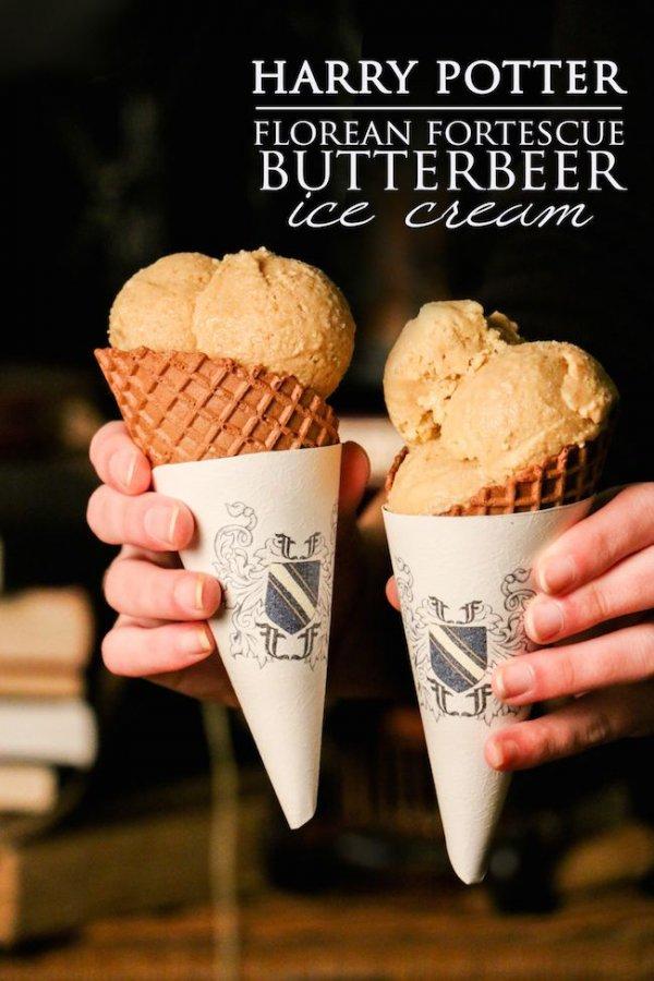 Florean Fortescue Butterbeer Ice Cream
