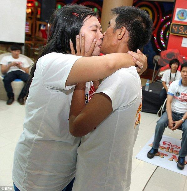 World Record Kiss