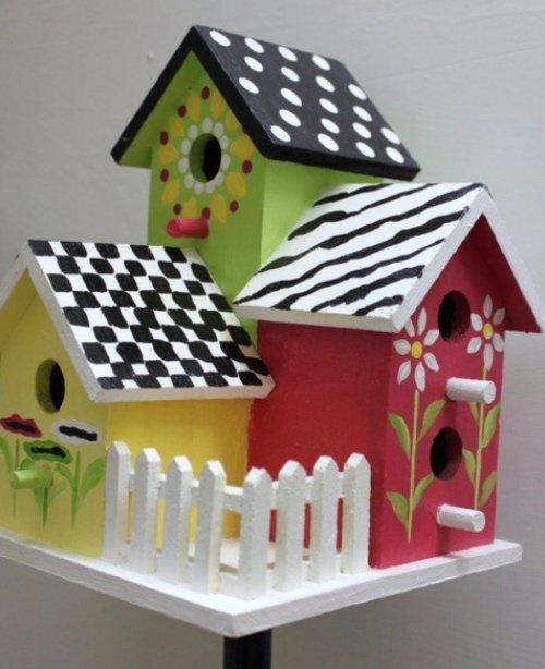 Handpainted Birdhouses