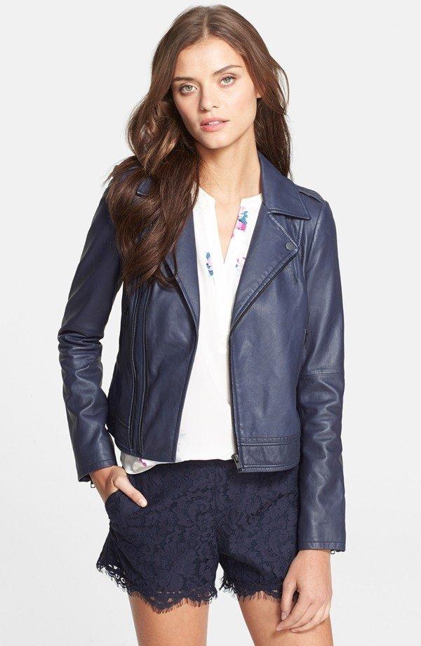 Joie 'Caldine' Leather Jacket