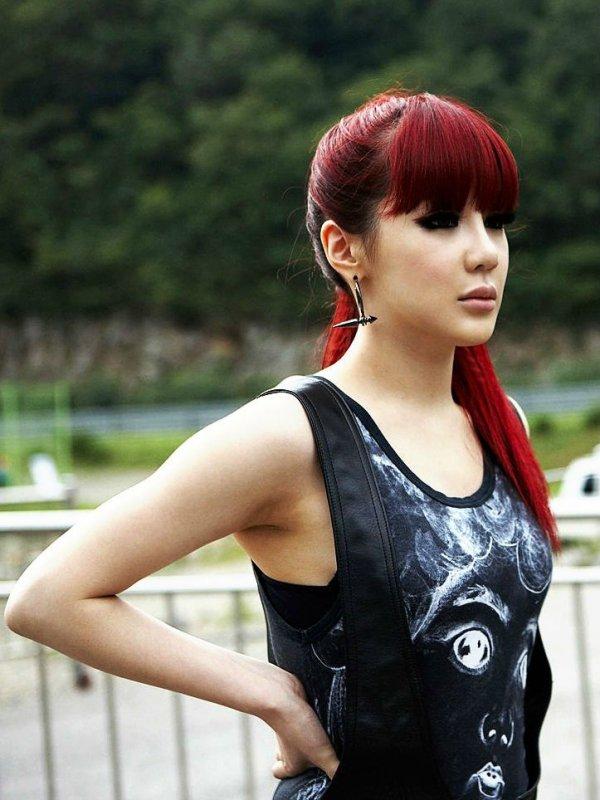 Park Bom of 2NE1 - Red