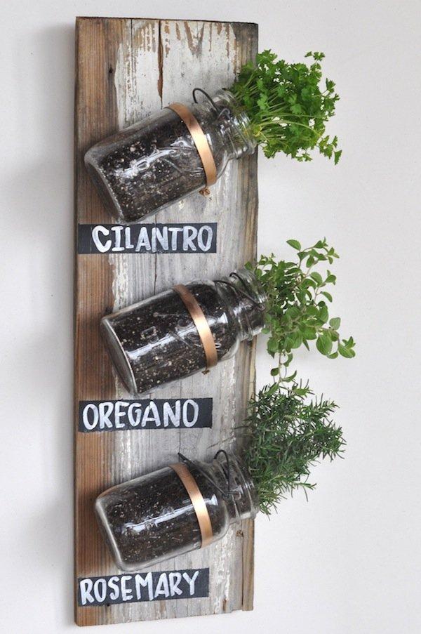 Use Mason Jars and Hose Clamps