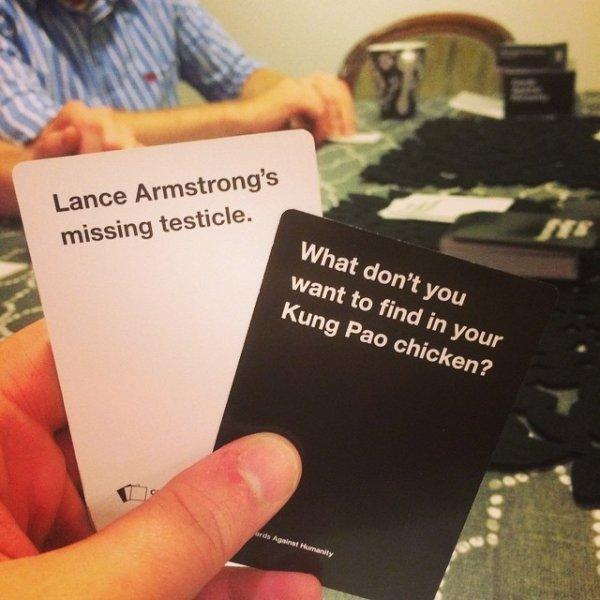 Sorry, Lance