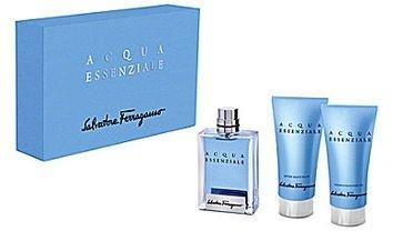 Salvatore Ferragamo Acqua Essenziale Men's Gift Set