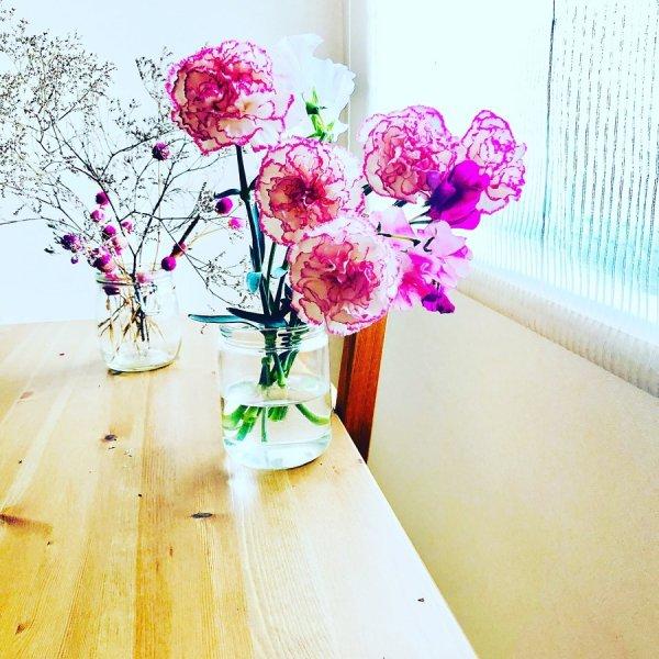 flower, pink, flower arranging, vase, floristry,