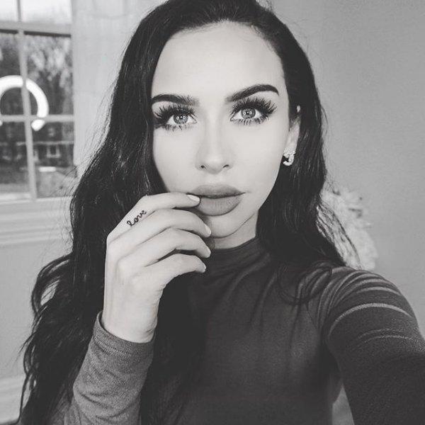 black, white, hair, person, eyebrow,